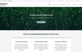 Cormorant Services website